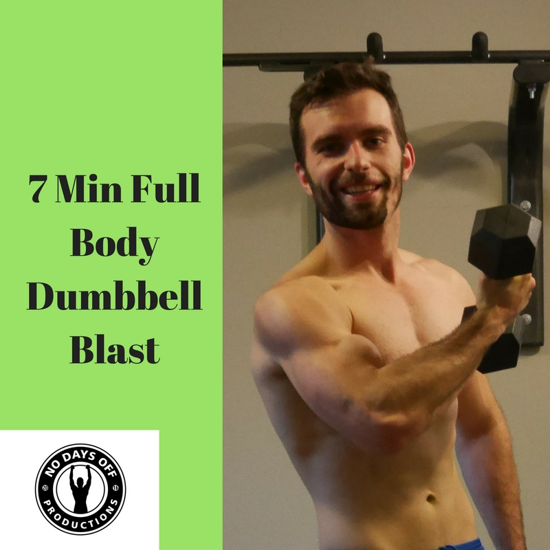 7 Min Full Body Dumbbell Blast